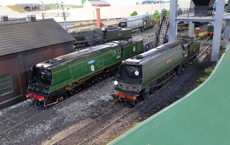 34057 'Biggin Hill' and 34103 'Calstock'